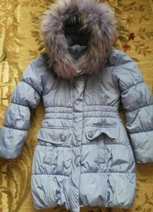 Куртка для девочки 5-7 лет