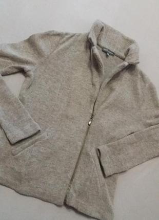 Суперовый пиджак-кофта laura ashley 100%-шерсть.р.10.
