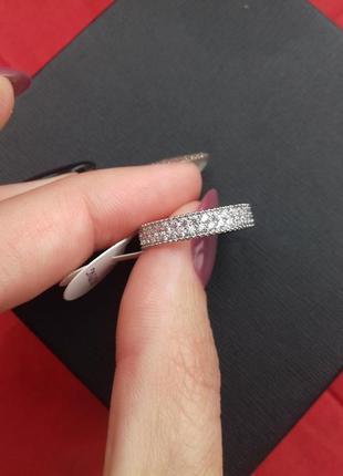 Кольцо медзолото 18 размер