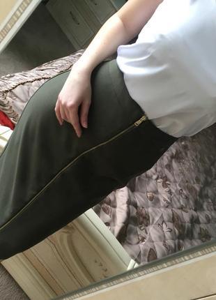 Шикарная юбка миди от бренда f&f