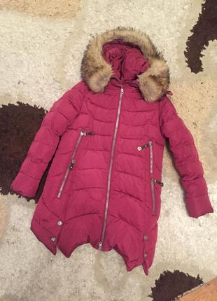 Зимняя курточка kiko на девочку ,пуховик