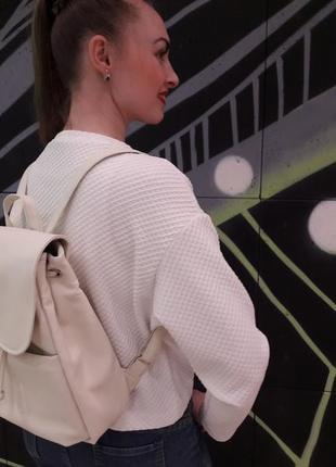 Стильный женский голубой рюкзак для учебы, прогулок, путешествий