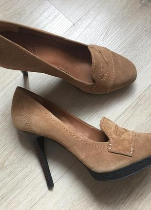 Туфли премиум бренда uterque размер 40