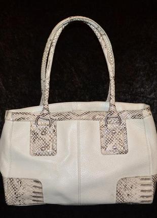 Кожаная сумка jasper conran