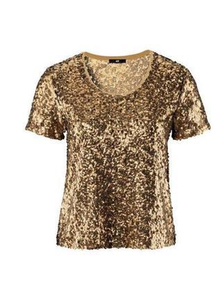 Шикарная блуза в паетках, очень много вещей в наличии+скидки, заходите!
