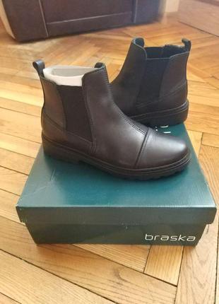 Ботинки челси (chelsea boots), бренд braska