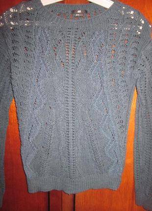Фирменный свитер h&m размер xs