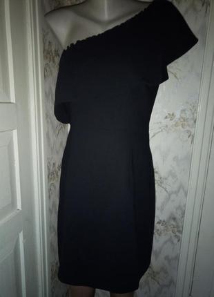 Супер платье на одно плечо евро 12