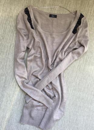 Туника-свитер от f&f