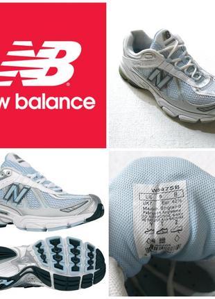New balance running w847sb  оригинал ,кожаные женские фитнес тренеры размер 40,5