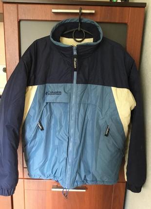 Крутая двусторонняя куртка размер - 48 +