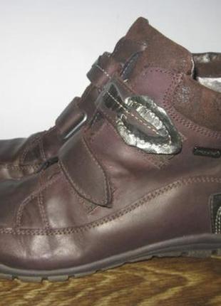 Кожаные ботинки ricosta sympa tex р.38