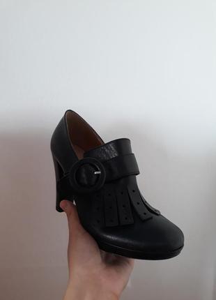 Очень модные кожаные итальянские туфли vera pelle2 фото