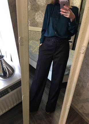 Тёплые широкие брюки