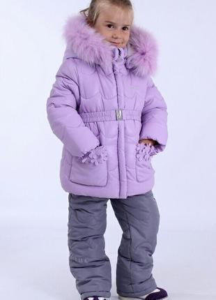 Красивый зимний костюм кико 4508 kiko
