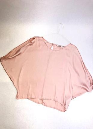 Пудровая блуза new look