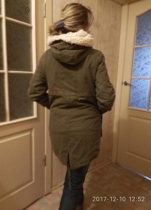 Пальто куртка парка от bershka