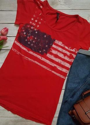 Стильная футболка с принтом от crazy world