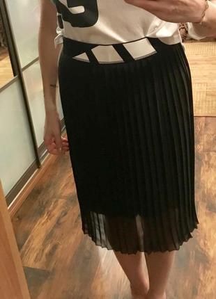 Плиссированная юбка adidas