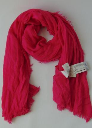 Легкий шарф жатка акрил terranova италия сток
