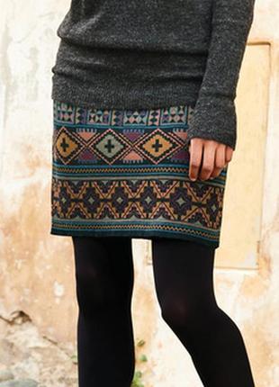 Юбка мини гобеленовая new look