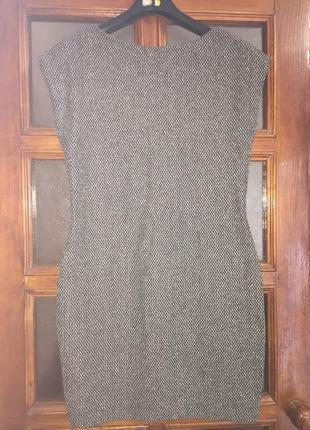 Платье букле zara