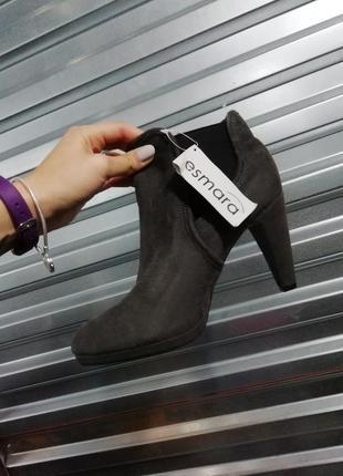 Esmara heel shoes ботинки, ботильоны