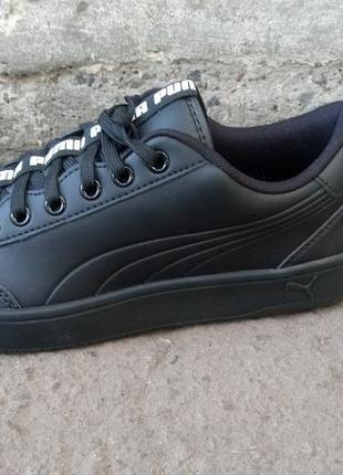 Кеды puma men s court breaker bold black sneakers (41 26.5 см, 45 ... dd571cfab7d