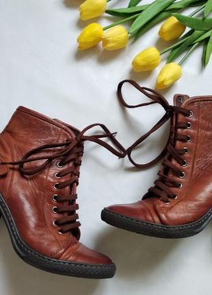 Итальянские ботинки passo per passo 38,5-39 размер