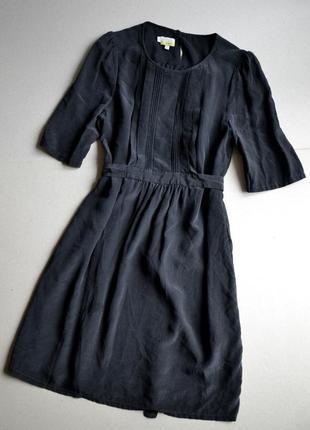 Шёлковое платье  p.s-m-l 100%шёлк hobbs