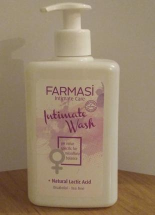 -10% знижки мило для інтимної гігієни intimate care farmasi фармаси 445мл