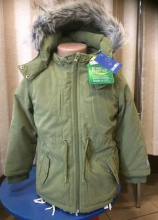 Дитяча куртки-парки lupilu евро-зима с германии розмір 110