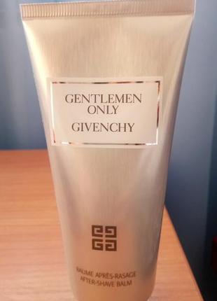 Givenchy бальзам после бритья gentlemen only