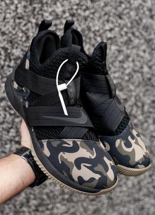 Шикарные баскетбольные мужские кроссовки nike lebron james 12