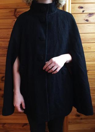 Стильное пальто- пончо от h&m