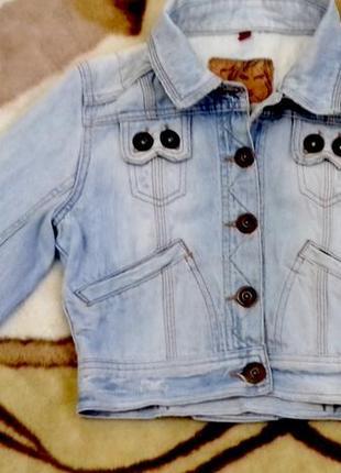 River island! джинсовая куртка от известного мирового бренда.