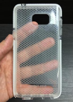 Фирменный противоударный чехол tech21 evo check для samsung note 5 новый в упаковке