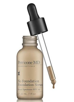Тональная сыворотка perricone md no foundation foundation serum