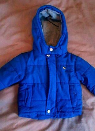 Осенняя демисезонная куртка debenhams bluezoo 3-6 мес (62-68)