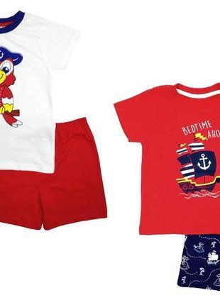 Комплект хлопковых пижам для мальчика, пижама, костюм primark германия
