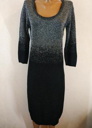 Шикарное брендовое платье миди