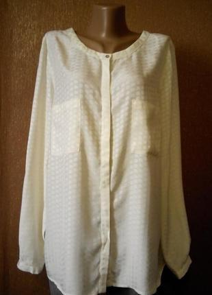 Блузка рубашка с накладными карманами monsoon
