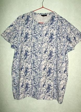 Распродажа!мужская футболка с интересным принтом размера xl