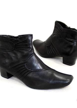 Ботинки 37,5 р caprice германия кожа оригинал демисезон