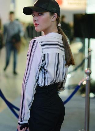 Модная рубашка h&m