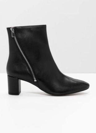 & other stories кожаные ботинки 36-41