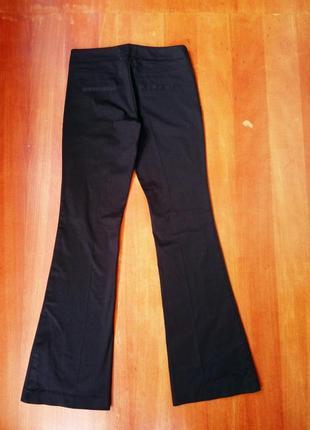 Классические чёрные брюки хлопок в деловом стиле twist&tango2