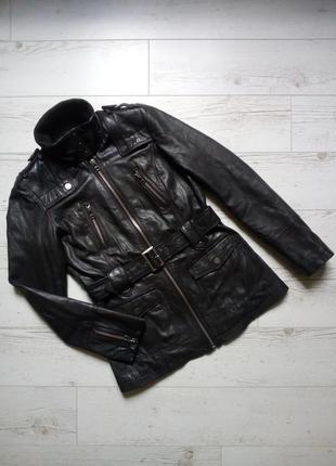 Куртка кожанка р. 44