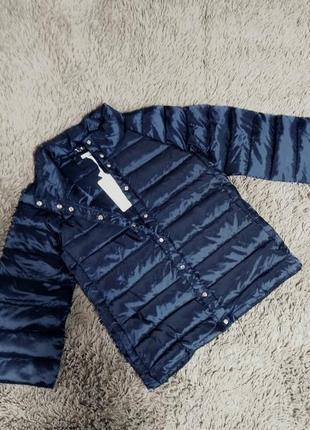 Стильный пуховик, куртка, натуральный пух
