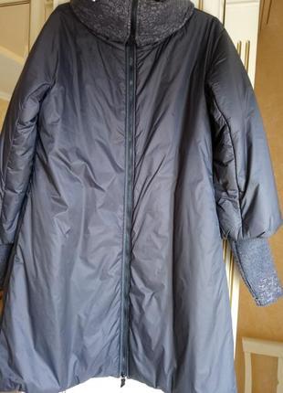 Итальянское дизайнерское пальто obligue.осень-зима.